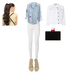 """Geen titel #9"" by demi-lovehorses on Polyvore featuring Burberry, Rails, Havaianas, Dorothy Perkins en Edie Parker"