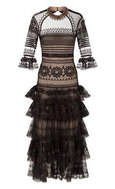 Midi Pirate Sleeved Dress
