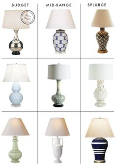 Looking For: An Interesting Table Lamp
