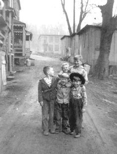 Back in the day in the mill town, Oella.  Circa 1940s.  From the Baltimore County Legacy Web.