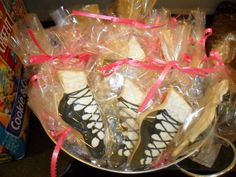 irish dance shoe sugar cookies