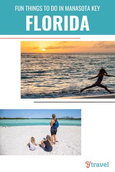 Dreaming of white sand beaches, turquoise water, and a cool ocean breeze? Manasota Key, Florida is where you'll find them! The kids will love building sand castles, hunting for shark teeth, and enjoying sweet cool treats. (And so will you!) Head to our blog for fun things to do with kids in Manasota Key, Florida. #ManasotaKeyFlorida #FloridaVacations #ManasotaKeyTravel #BeachVacation #BeachVacationwithKids #USRoadTrips #FamilyTravel