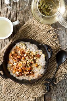 Chia Seed Breakfast Bowl @ohsheglows