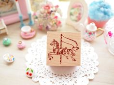 Cui stamp (Carousel Pony )