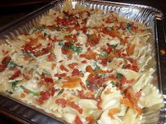 Chicken Florentine Casserole ~ easy and yummy when helping cover family meals for new moms, etc.