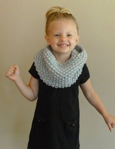 Hand Knit Toddler/Kids Cowl CHOOSE COLOR Children's Seed Stitch Cowl, Knit Toddler Cowl, Girls Boys Scarf, Kids Infinity Scarf Loop Scarf Toddler Neckwarmer https://www.etsy.com/listing/198055091/hand-knit-toddlerkids-cowl-choose-color