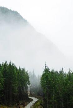 Décor montagneux