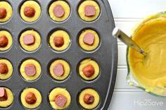 How to make corn dog muffins Hip2Save