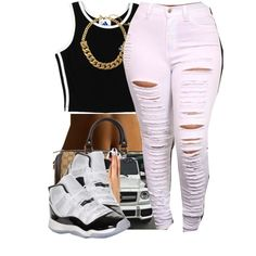 032315 by polyvoreitems5 on Polyvore featuring polyvore, fashion, style, adidas, Gucci and Kate Spade