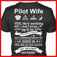 A Pilot's Wife . . .