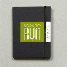 Running Gift Notebook from notonthehighstreet.com