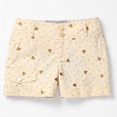 "Honeybee cargo shorts size 6 EUC Daughters of the Liberation's twill shorts are covered in a sweetly stitched swarm of bees.   Front, back pockets  Cotton  Machine wash   4""L Anthropologie Shorts"