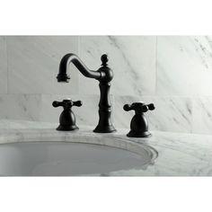 Vessel Sink Bathroom, Widespread Bathroom Faucet, Lavatory Faucet, Bathroom Faucets, Bathrooms, Matte Black Bathroom Faucet, Bath Fixtures, Bathroom Mirrors, Downstairs Bathroom