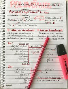 Pinterest: @larissgs ☪ Math Notes, Class Notes, School Notes, School Organization Notes, Study Organization, Pretty Notes, Good Notes, Study Journal, Bullet Journal School
