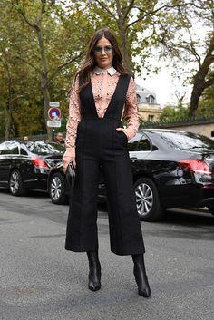 Paola Alberdi at Paris Fashion Week Spring 2017