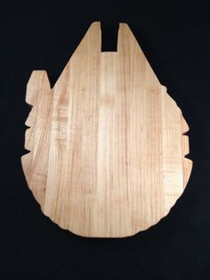 Star Wars Millennium  Falcon Cutting Board by THTWoodworking, $30.00