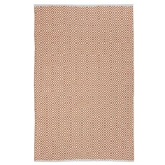 Indo Hand-woven Veria Orange/ White Contemporary Geometric Area Rug (8' x 10') | Overstock™ Shopping - Great Deals on 5x8 - 6x9 Rugs
