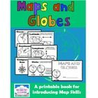 Maps and Globes - A Printable Book for Introducing Map Skills -   Your students will practice following written instructions as they label, color, ...