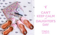 Daughter's are angels😇  sent from above  to fill our heart 💞 with  unending  LOVE❣  HAPPY DAUGHTER'S 👗AND SON 👔 DAY TOO.... #instagram #footwearlove #footwearforgirls #fashionblogger #fashionpost #blogger #handcrafted #trendy #newcollection #handmade #footwear #discount #womensfashion #rakhidiscount #daughters #2016 #daughtersday #happydays #pink #pinklove  #juttilove