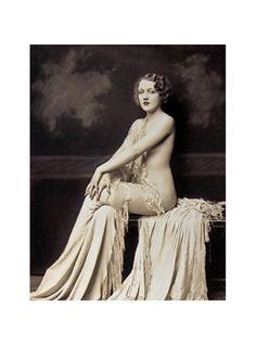 Ziegfeld Follies Photograph of Dorthy Graves by Alfred Cheney Johnston