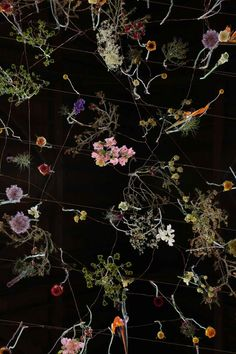 « The Flower Garden Display'd 2014 » by Rebecca Louise Law - Garden Museum of London (IV) l #floralart