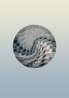 Astral Sea by Sarita Walsh, via Behance