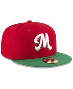 New Era Mexico Caribbean Series Vize 59Fifty Fitted Cap - Red 7 1 2 Gorra 3ccf359668b41