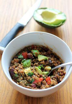 Vegetarian Lentil & Quinoa Chili