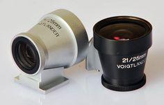 Voigtlander BLACK 21mm / 25mm Brightline Viewfinder for Leica M cameras #Voigtlander