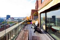 Another amazing Manhattan terrace at London Terrace Towers in Chelsea