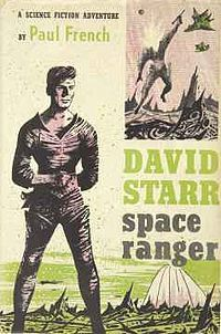 """""""Lucky Starr, el ranger del espacio"""" (David Starr, space ranger - 1952) Isaac Asimov"""