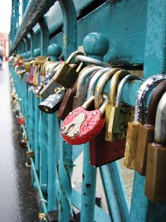 """Lovers"" Bridge (Tumski)  Wroclaw, Poland"