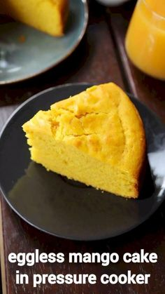eggless mango cake recipe, mango sponge cake with step by step photo/video. popular & tasty seasonal sponge cake recipe with cake batter & mango pulp. Sponge Cake Recipes, Easy Cake Recipes, Sweet Recipes, Baking Recipes, Snack Recipes, Snacks, Juice Recipes, Mango Cake, Chaat Recipe