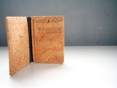 Cork Card Holder Business Card Holder Card Wallet Card case Mens bifold wallet Purse bags Birthday Gift Fashion Famous by naturaism on Etsy https://www.etsy.com/listing/215634410/cork-card-holder-business-card-holder