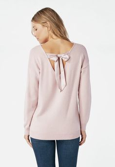 a32522eac9 Plush Tie Back Pullover in Keepsake Lilac - Get great deals at JustFab  Purple