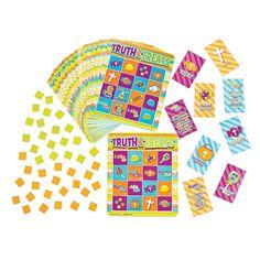 """Truth & Treats"" Bingo - OrientalTrading.com"