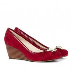 """Sole Society """"Margaret"""", $59.95 in red--these look just like my wedding shoes that were bronze, so super comfy and cute :)"""