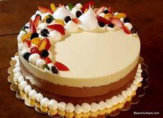 Sweet Desserts, Vegan Desserts, Cake Recipes, Dessert Recipes, Romanian Food, Vegan Kitchen, Mousse Cake, Homemade Cakes, Something Sweet