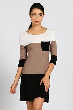 COLORBLOCK KNIT POCKET TRIM DRESS- taupe $28-FREE Jamberry nail wrap sample w/ DJB purchase this wknd!! To shop from computer:  https://www.facebook.com/DakotaJacksonBoutique/app_189977524185 Shop from mobile: https://www.facebook.com/DakotaJacksonBoutique?sk=app_189977524185