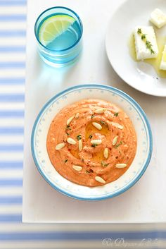 Ktipiti, crème de poivrons à la feta | Un déjeuner de soleil | Edda Onorato