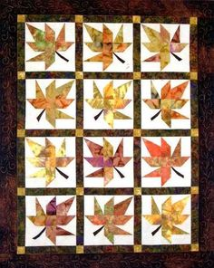 LAZY LEAVES QUILT QUILTING PATTERN, From Far Flung Quilts NEW | Crafts, Sewing, Quilting | eBay!