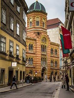 Vienna, Greek Church, Meat Market