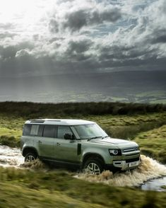 The 2021 Land Rover Defender is just as off-road capable as it was last year, but a few new variants add variety to the lineup. Range Rover Off Road, Range Rover Car, New Defender, Landrover Defender, Bugatti, Lamborghini, Ferrari, Land Rover Defender Price, E Electric