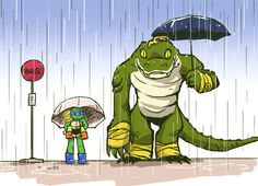 My Neighbor Leatherhead ^.^
