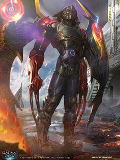 Demon hunter Evolution (Galaxy Saga) by *MatiasMurad on deviantART
