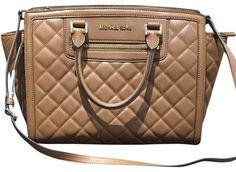 Selma Zip Walnut Leather Satchel Shoulder Bag – Bagriculture
