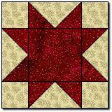 basic star quilt
