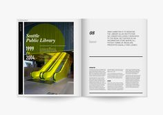 Rem Koolhaas Exhibition Catalogue by Kevin Leung, via Behance