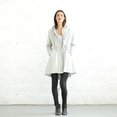 Adjustable, understated outerwear. #etsy