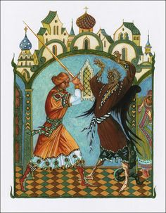 Tales of the Russian's earth. Illustrator G.